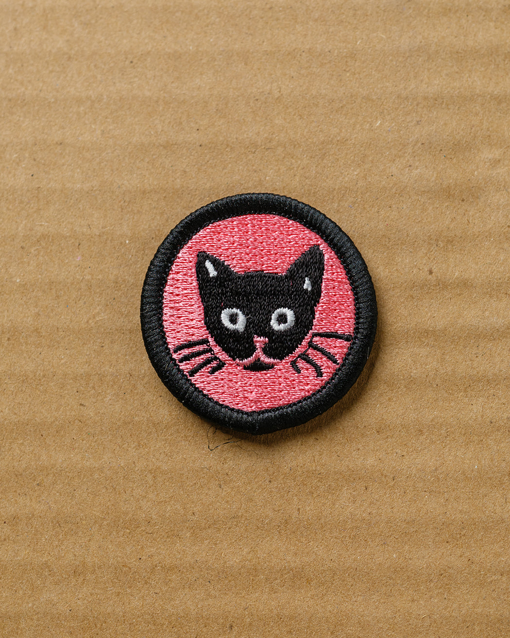 Cat Face Iron-On Patch - Fishs Eddy