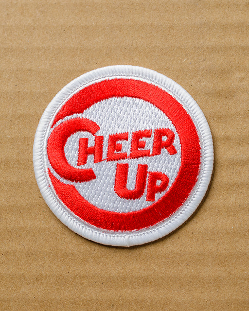 """Cheer Up"" Iron-On Patch"