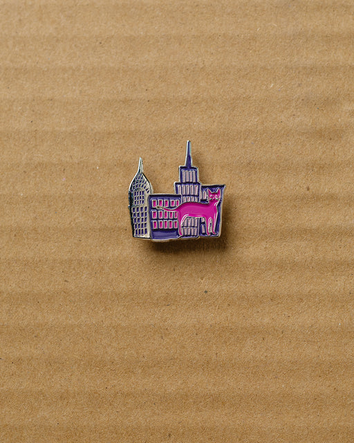 Collage City Pin