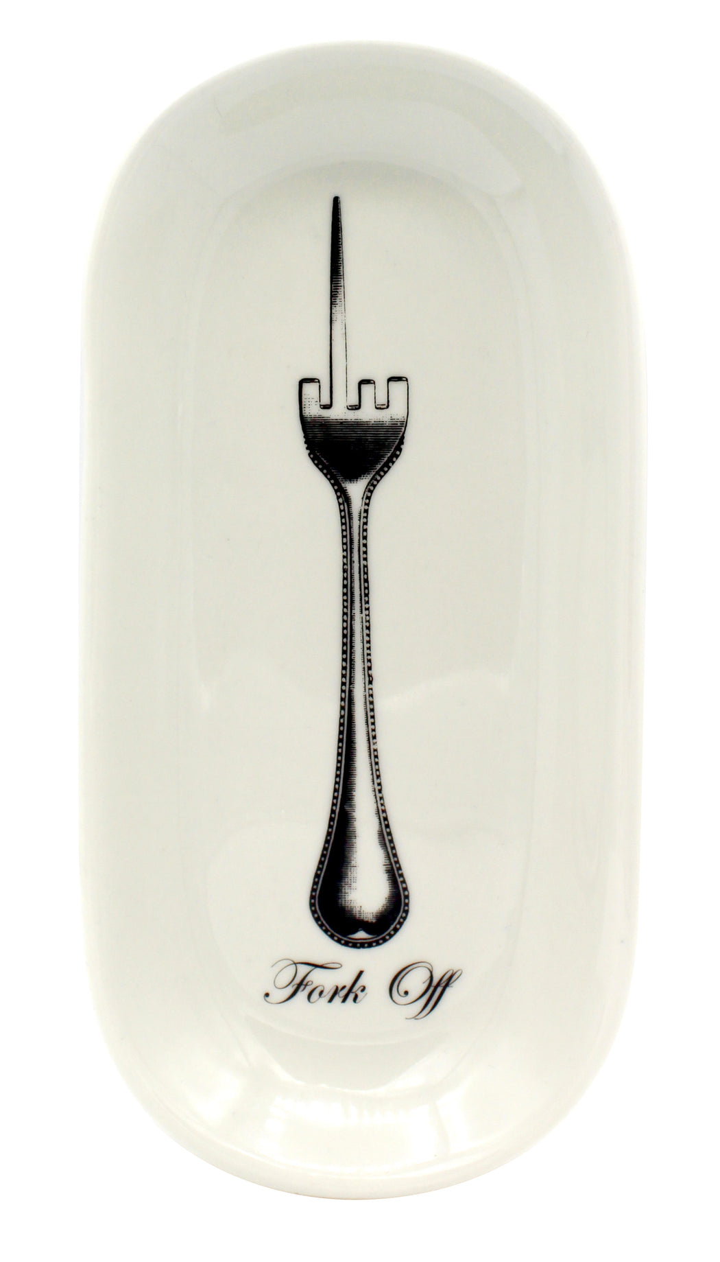"""Fork Off"" Spoon Rest - Fishs Eddy"