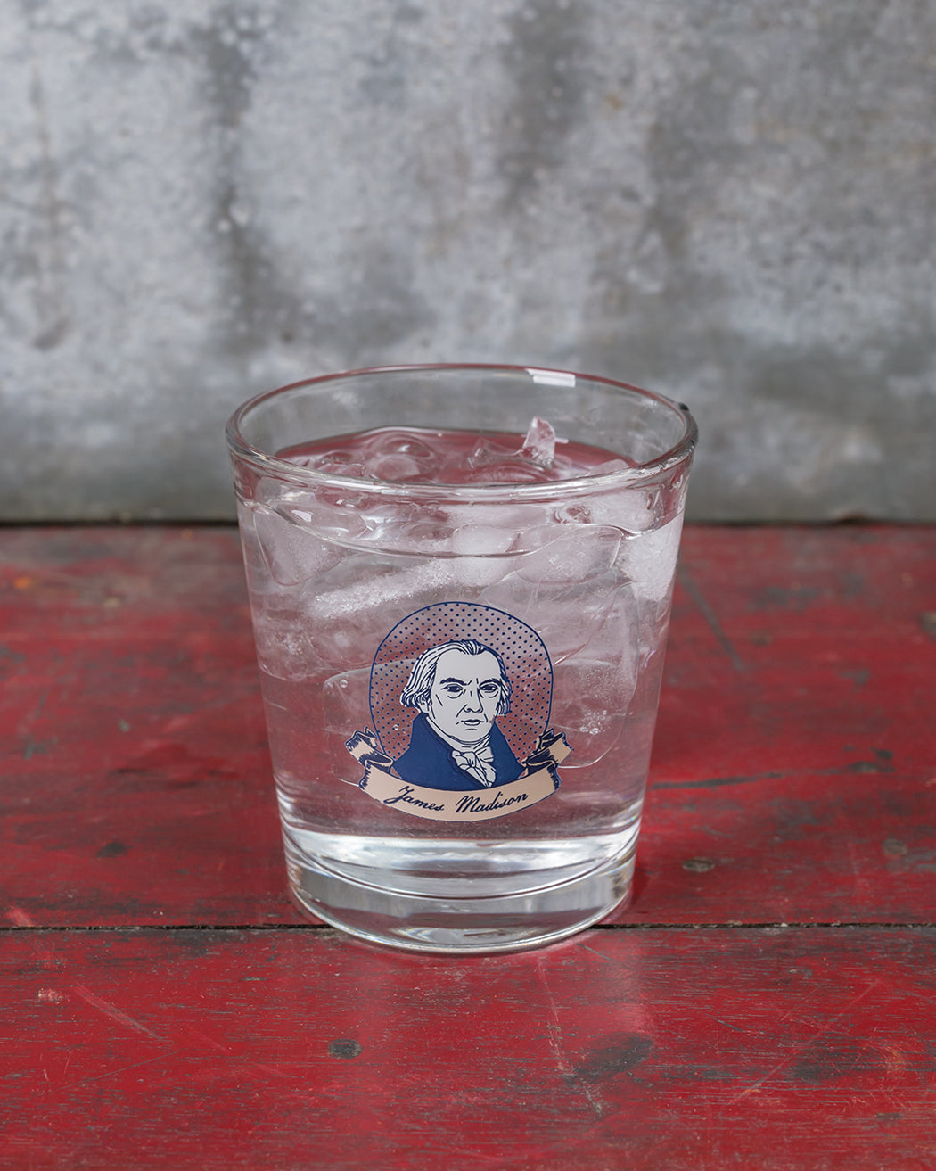 James Madison Double Old Fashioned Glass - Fishs Eddy