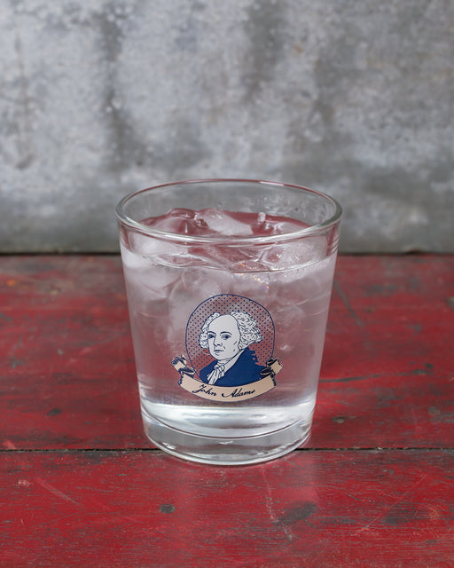 John Adams Double Old Fashioned Glass