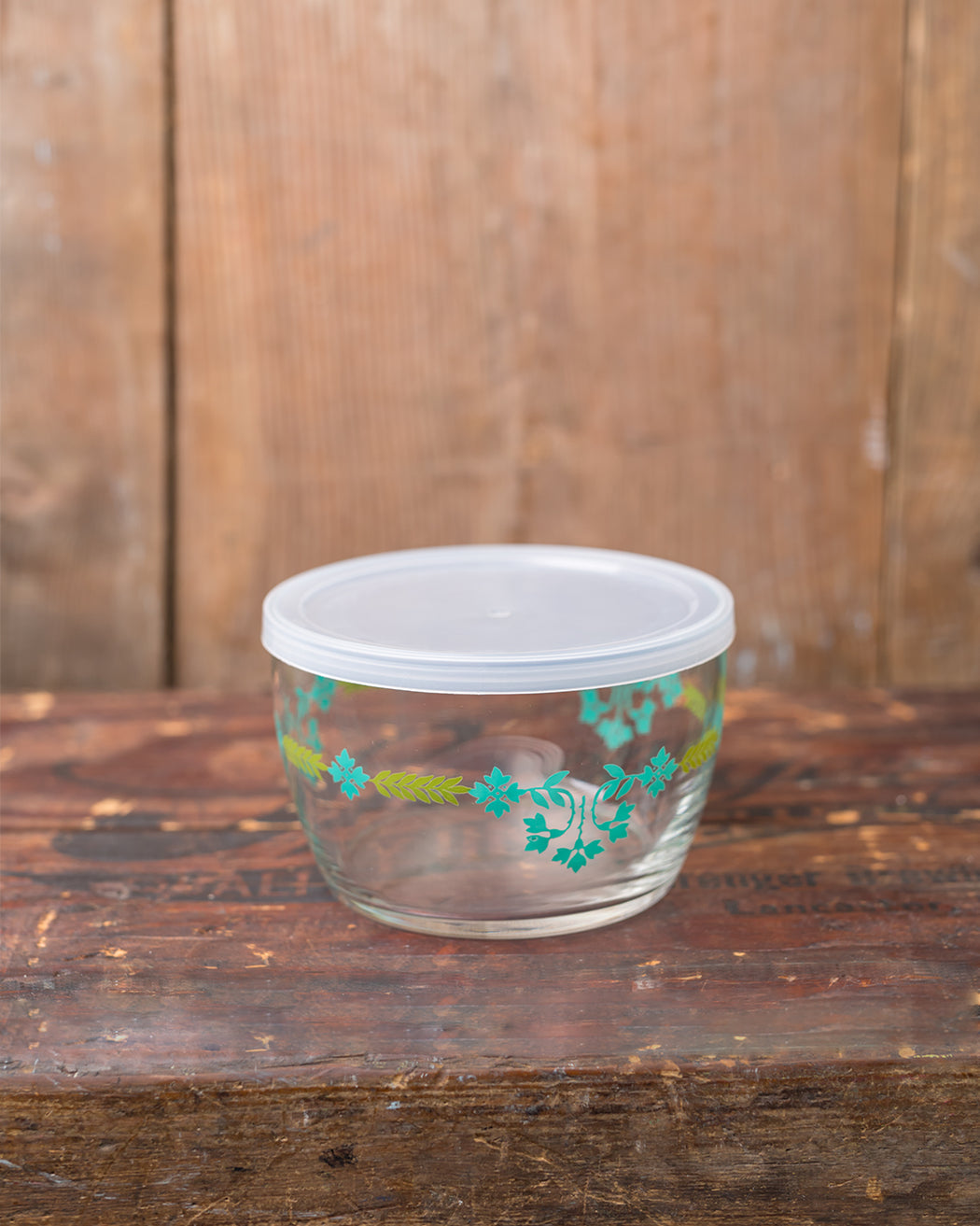 Storage Bowl - Teal Swag - Fishs Eddy