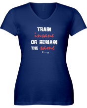 Train insane or remain the same woman's workout shirt - Gym Devotion