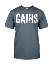 Men's shirtsGains men's workout shirt - Gym Devotion