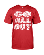 Go all out men's workout shirt - Gym Devotion
