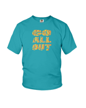Go all out kids workout shirt - Gym Devotion