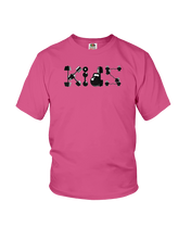 Kids workout icons shirt - Gym Devotion