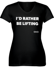 I'd rather be lifting workout shirt - Gym Devotion