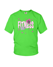 Kettlebell kitty youth workout shirt - Gym Devotion