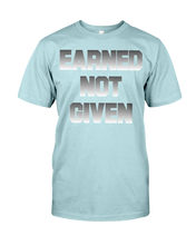 Men's shirtsEarned not given men's workout shirt - Gym Devotion