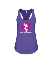 Women's tank topGirls who lift fitness tank - Gym Devotion