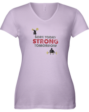 Woman's shirtSore today strong tomorrow woman's fitness shirt - Gym Devotion