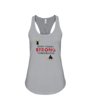 Sore today strong tomorrow woman's fitness tank - Gym Devotion