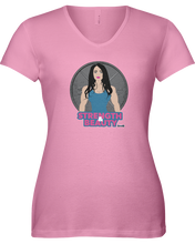 Woman's shirtStrength and beauty woman's fitness shirt - Gym Devotion