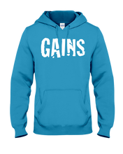 Gains Hoodie - Gym Devotion