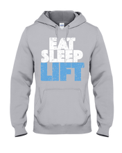 Eat Sleep Lift Hoodie - Gym Devotion