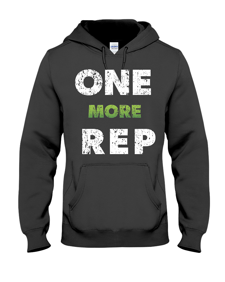 One More Rep Hoodie - Gym Devotion