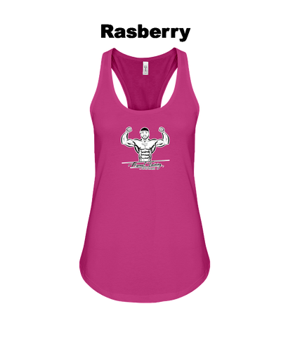 Lawrence Brown Personal Training Logo Ladies Tank Top - Gym Devotion