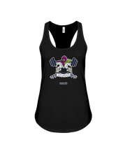 Get ripped skulls and barbell fitness tank top - Gym Devotion