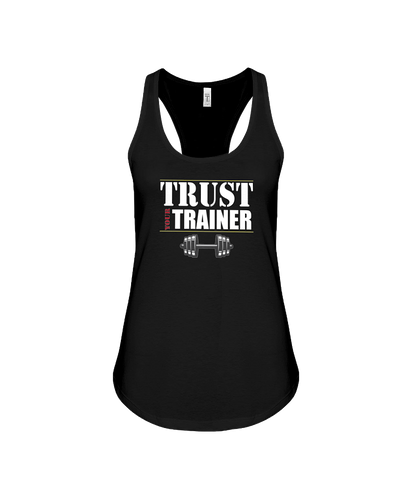 Trust your trainer fitness tank top - Gym Devotion