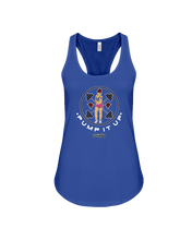 Pump it up female fitness tank top - Gym Devotion