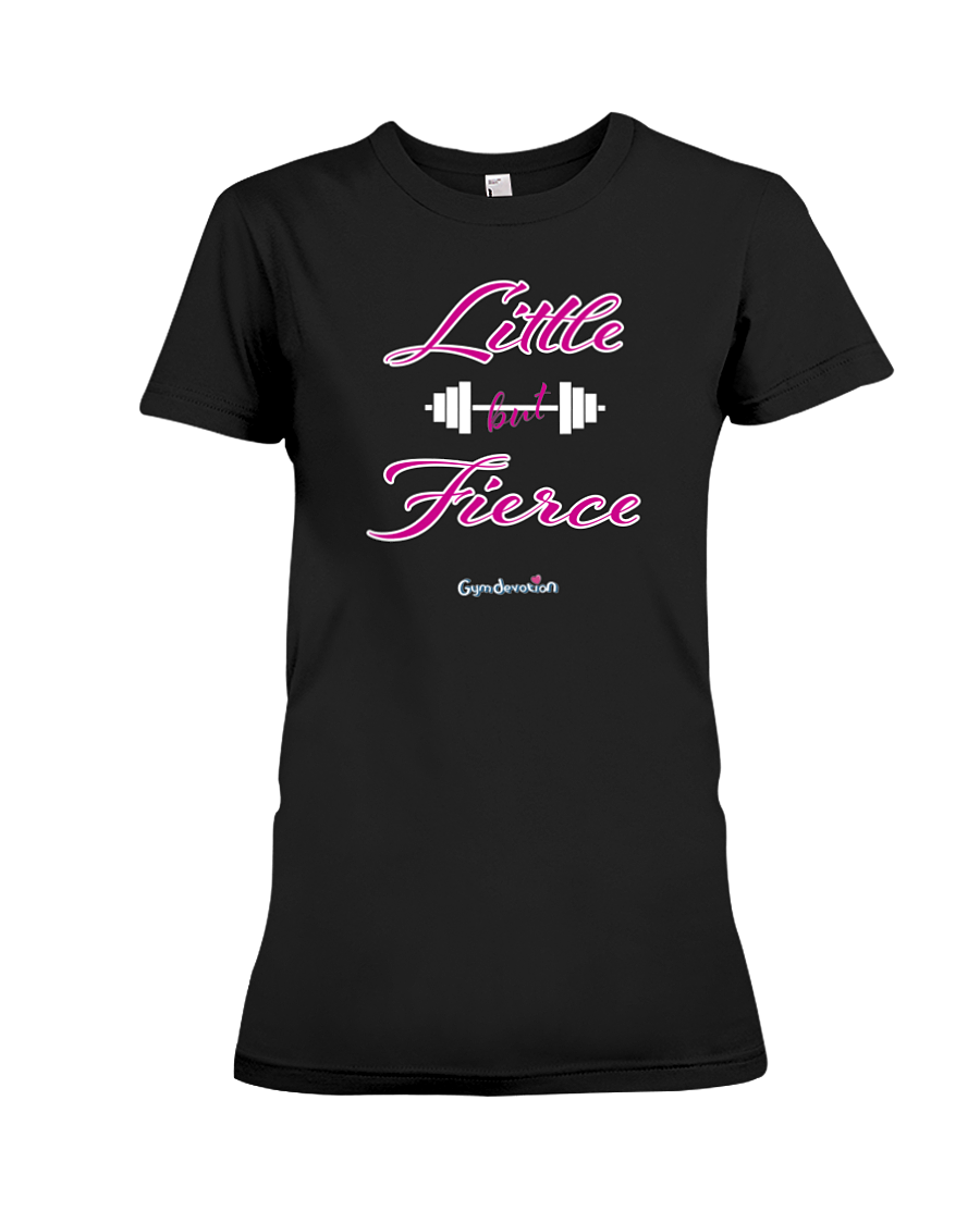 Little but fierce fitness tee shirt - Gym Devotion