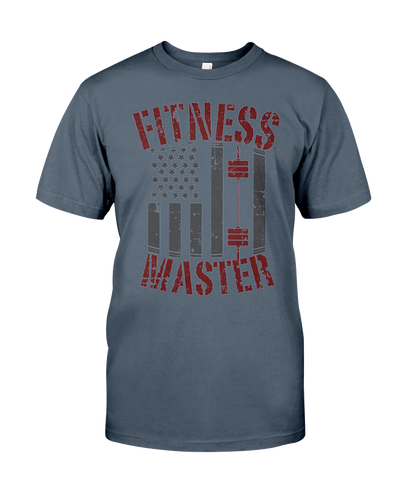 Fitness Master tee shirt - Gym Devotion