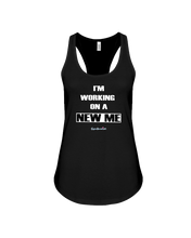 I'm working on a new me black print tank top - Gym Devotion