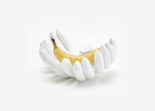 Reality Banana Bowl - White