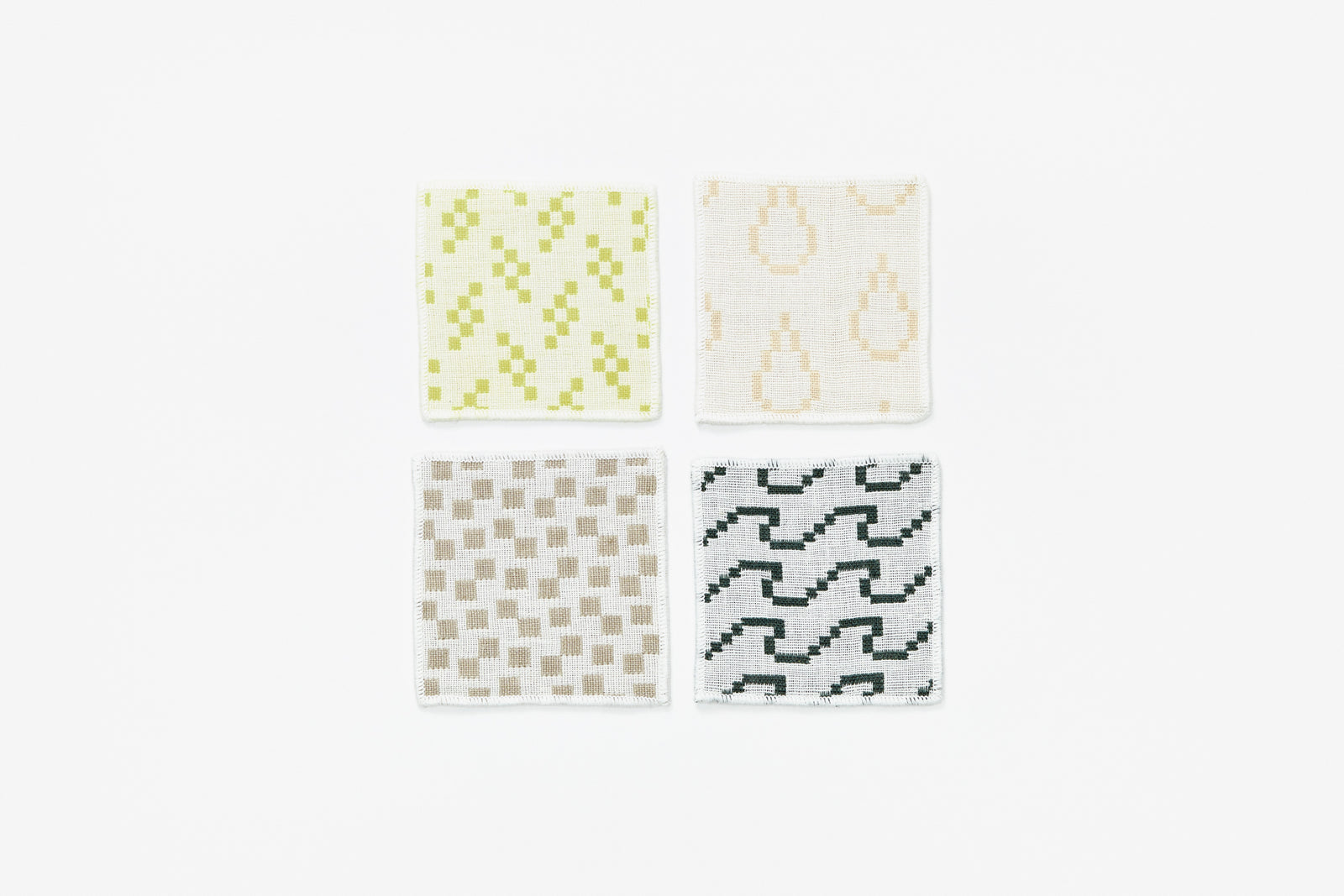Bitmap Textiles - Coasters Color