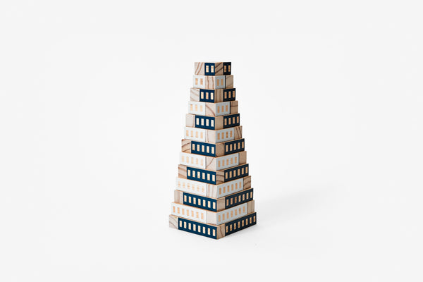 Blockitecture Tower Blue