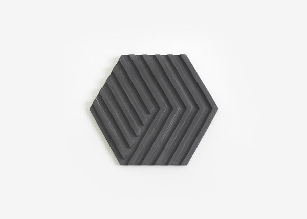 Concrete Trivet - Black