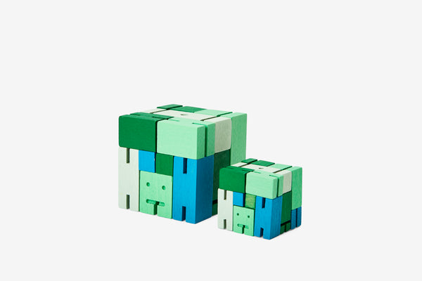 Cubebot® Capsule Collection | Green Multi