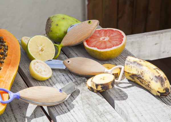 Fish Pocket Knife - Seashell