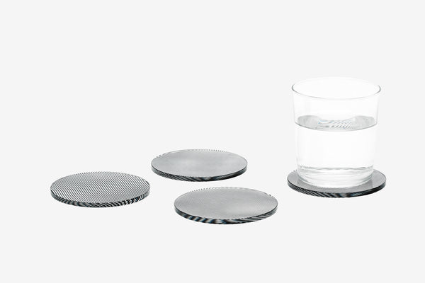Glass Coasters Wave