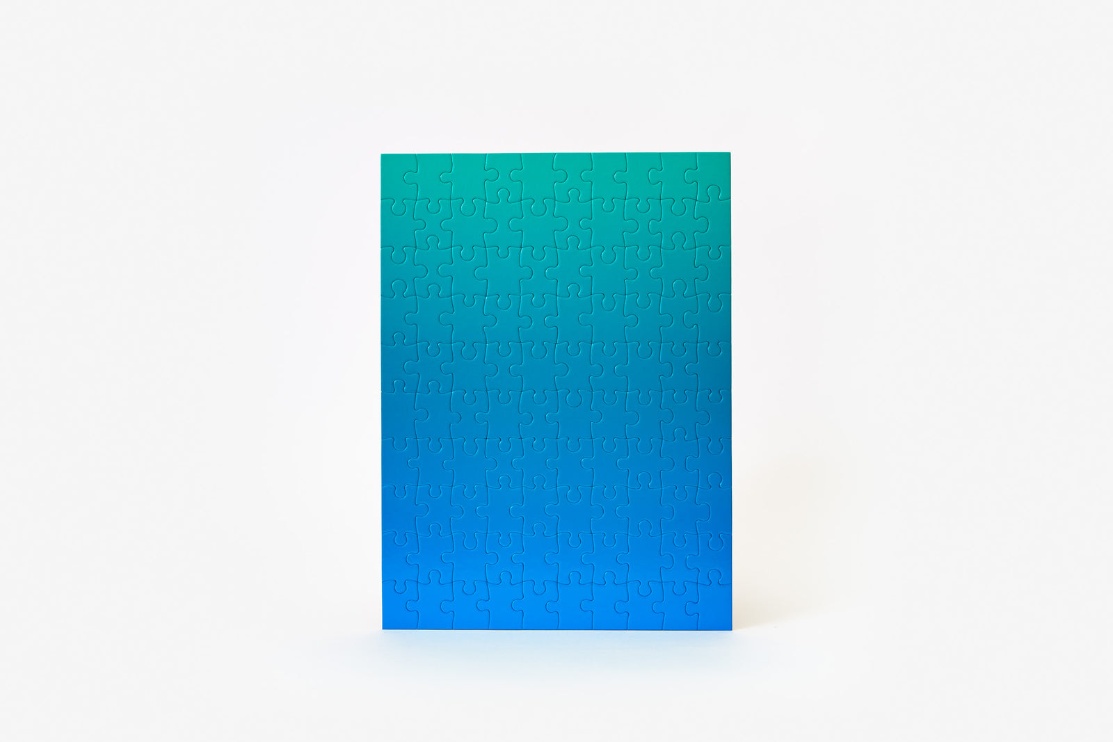 Gradient Puzzle Small - Blue/Green