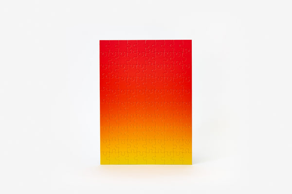 Gradient Puzzle Small - Red/Yellow