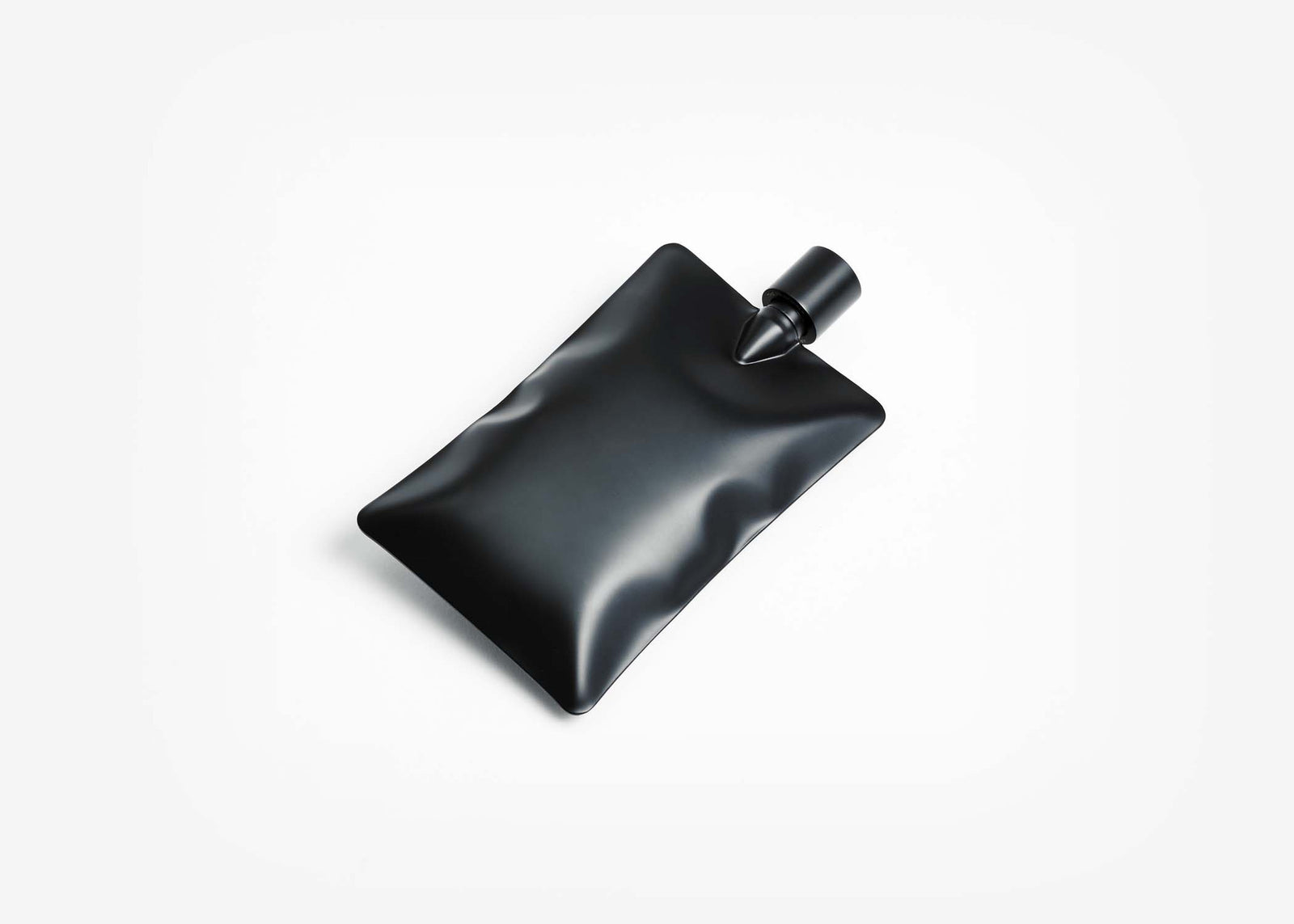 Liquid Body Flask - Matte Black