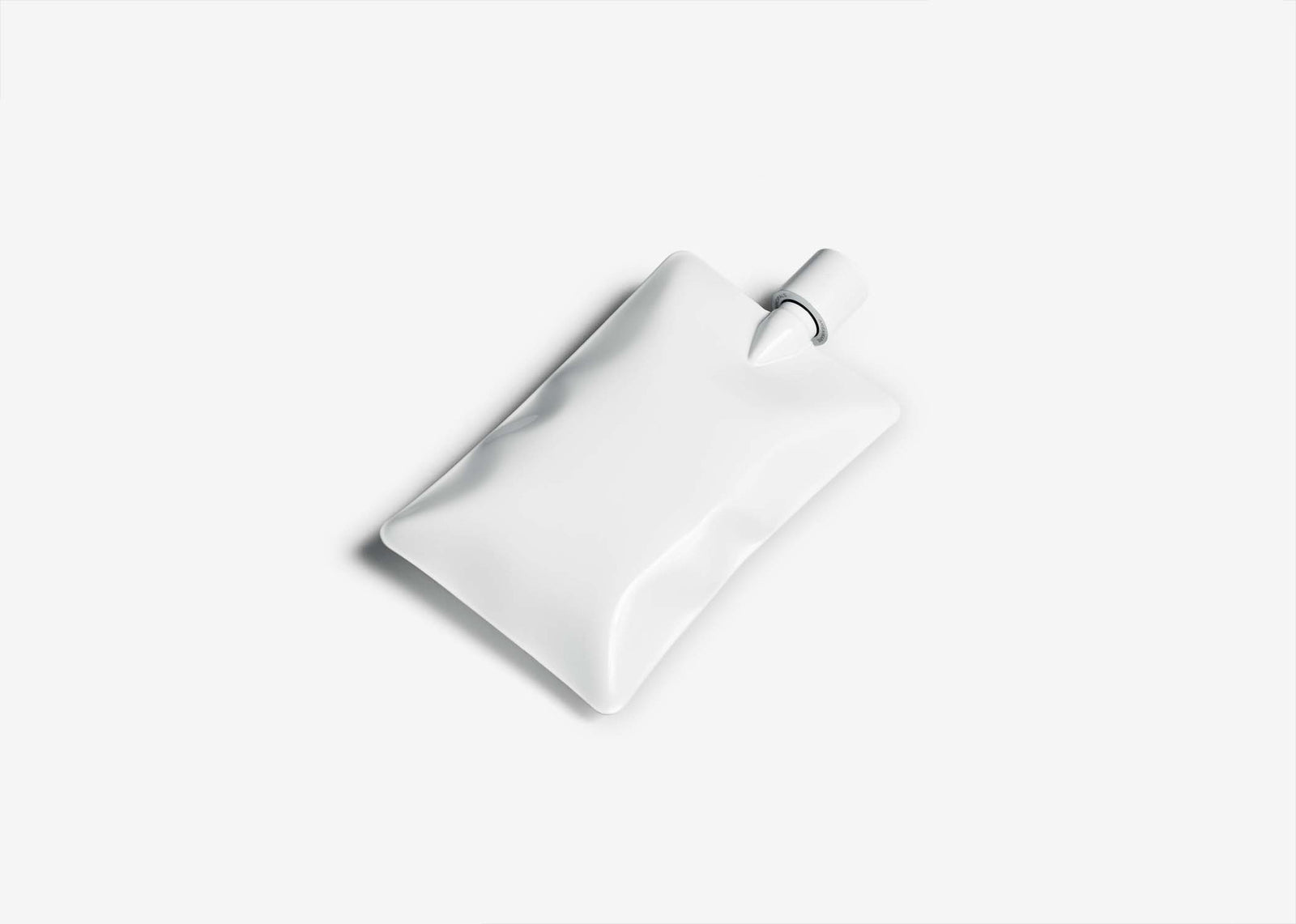 Liquid Body Flask - Gloss White