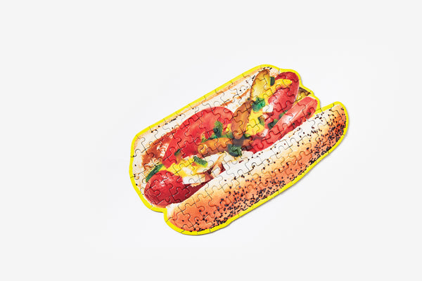 Little Puzzle Thing - Chicago Hot Dog