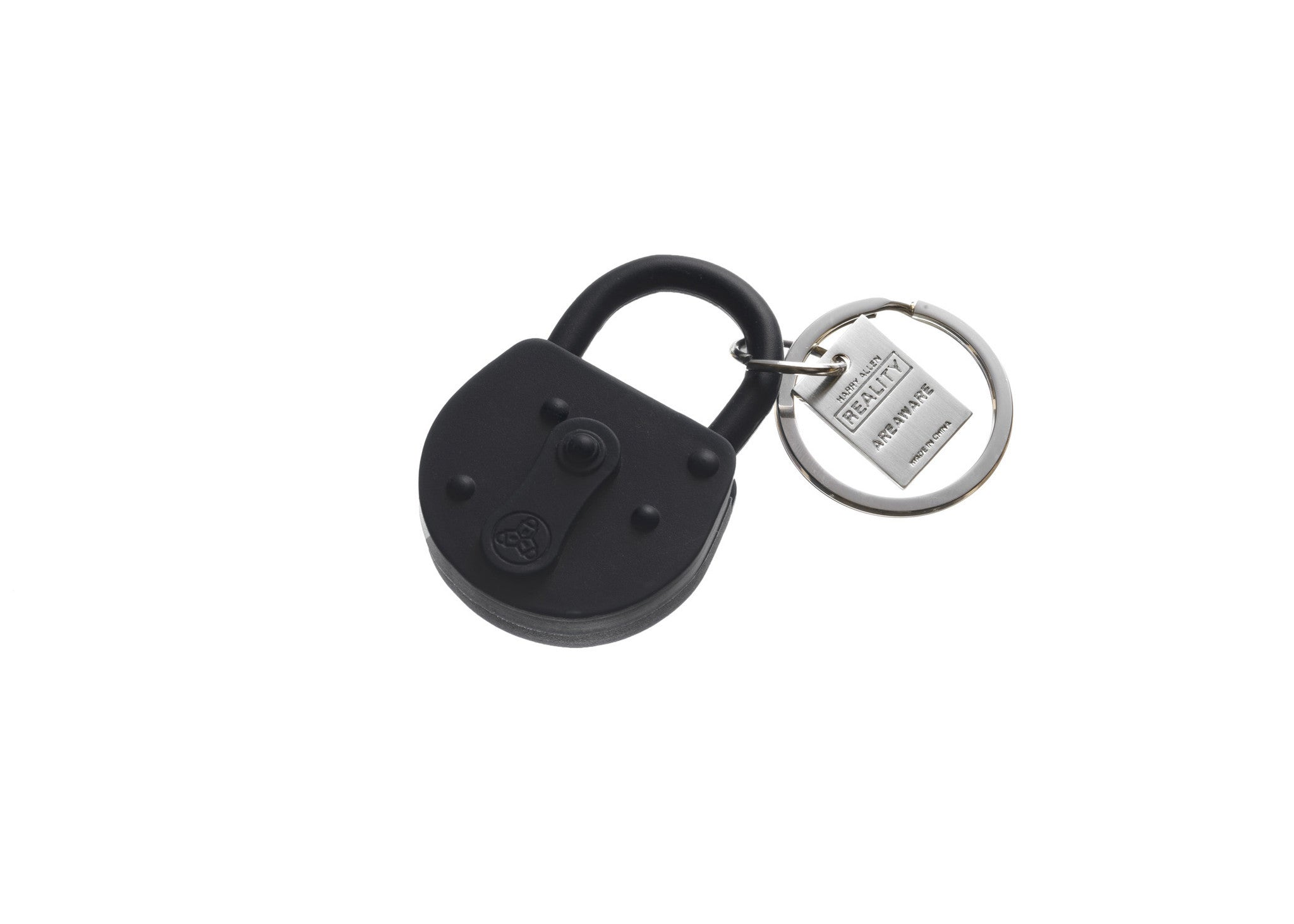 Apexia Black Leather Stainless Steel Key Chain with Oval Silver Key Ring Clip 3.5 x 1