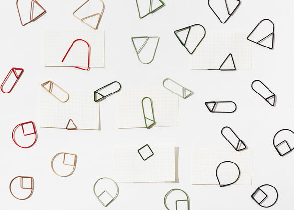 Paper Clips - Reds