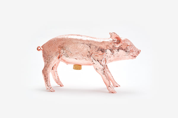 Reality Bank in the Form of a Pig - Rose Gold