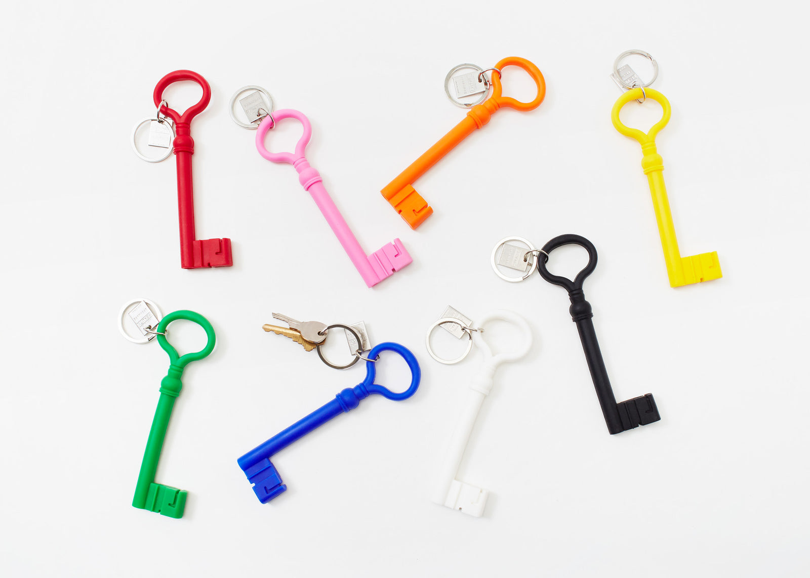Reality Keychain Key - Red