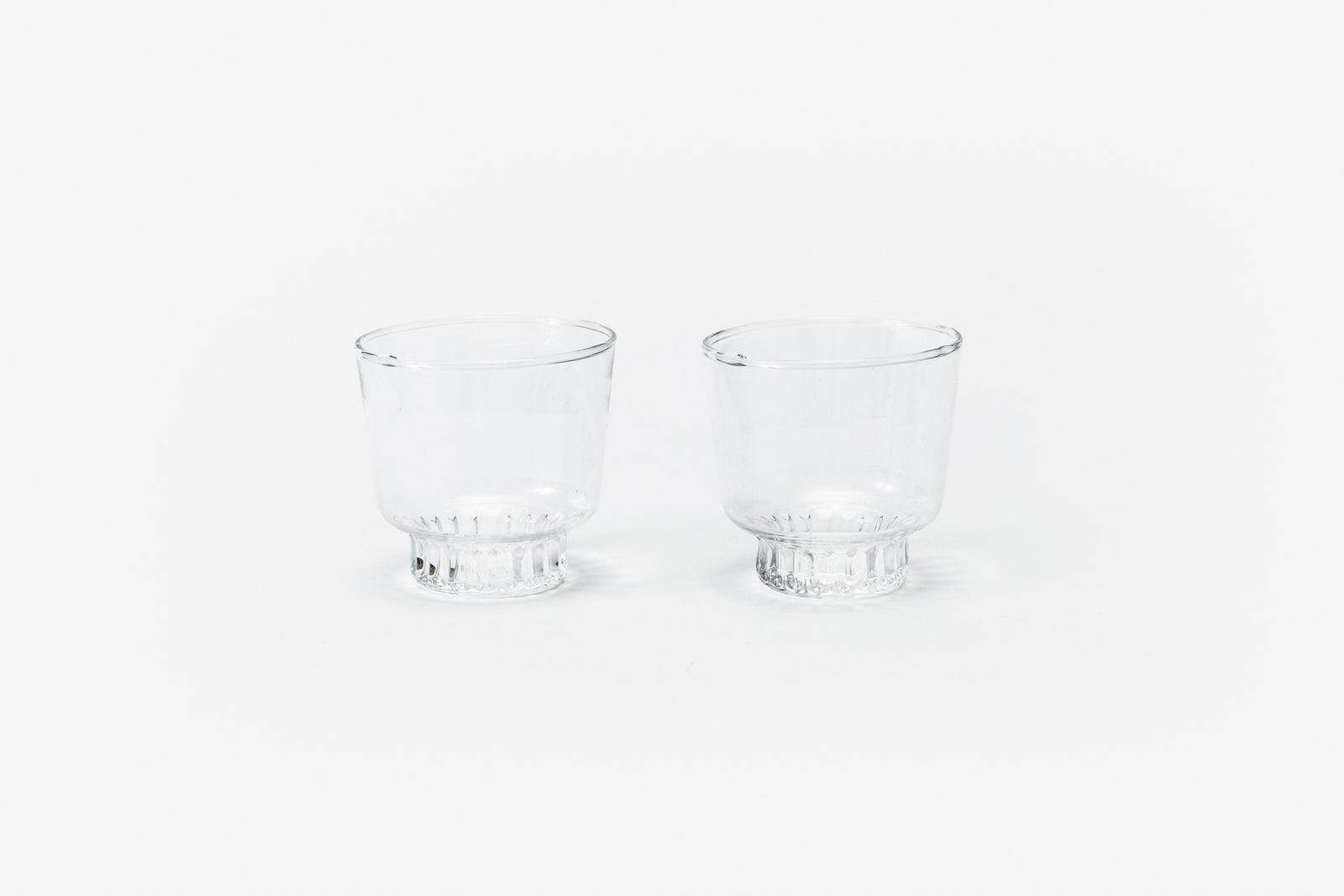 Ridge Kitchen - Small Glasses Clear (set of 2)