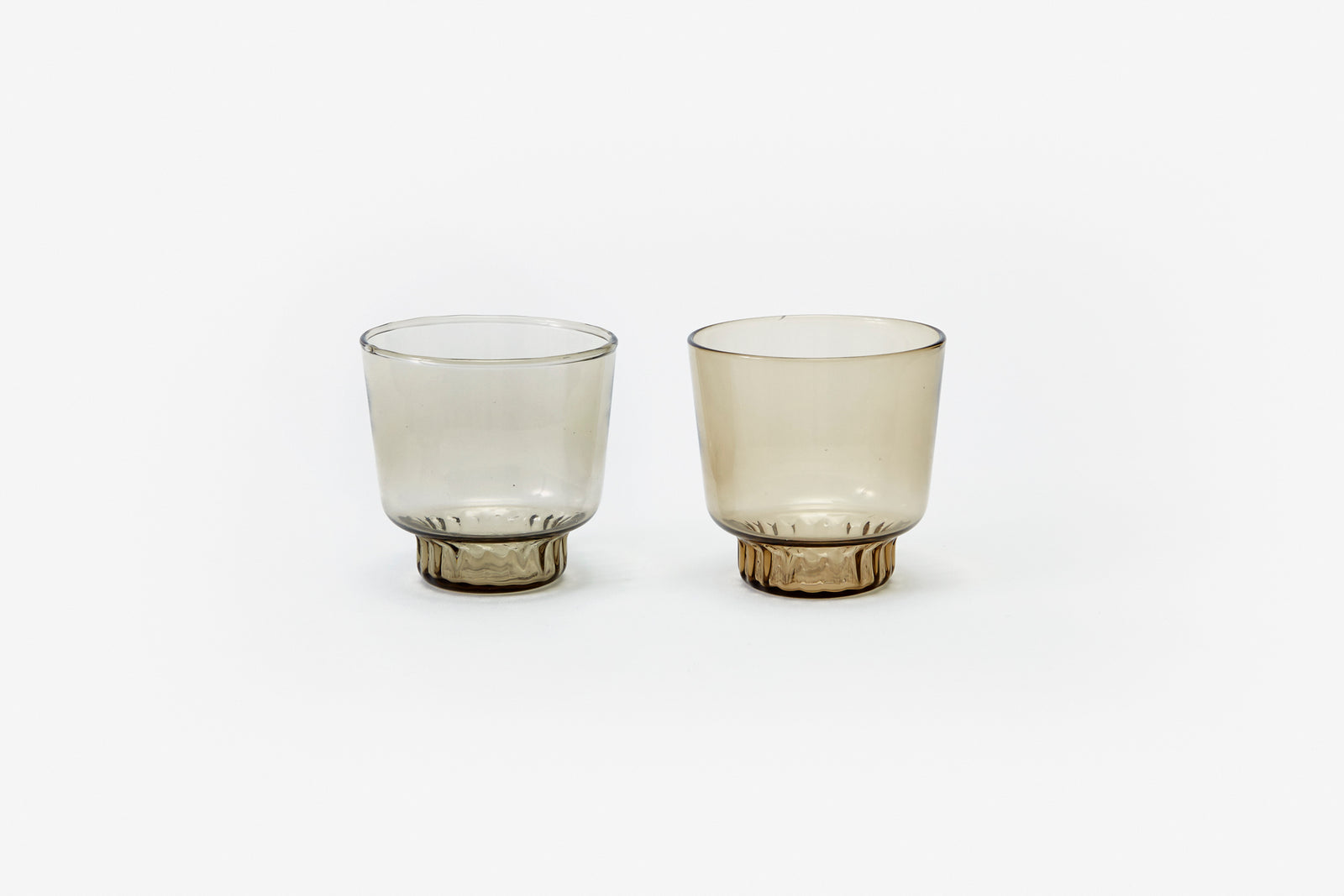 Ridge Kitchen - Small Glasses Smoke (set of 2)