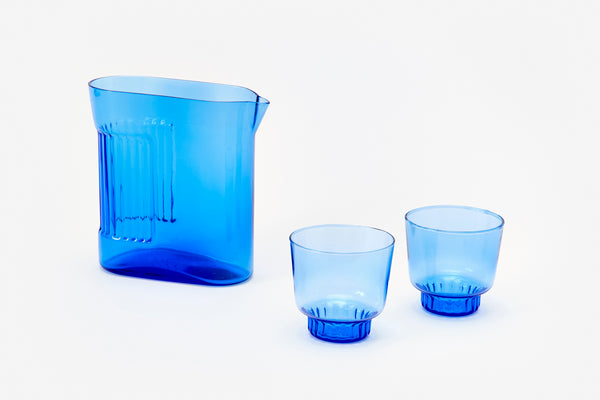 Ridge Kitchen - Small Glasses Cobalt (set of 2)