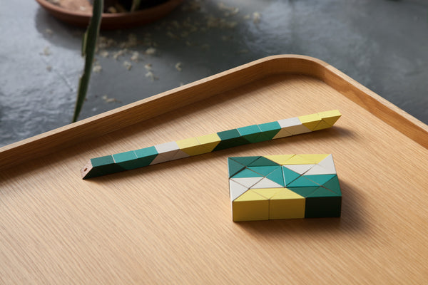Snake Block™ - Medium Yellow/Green