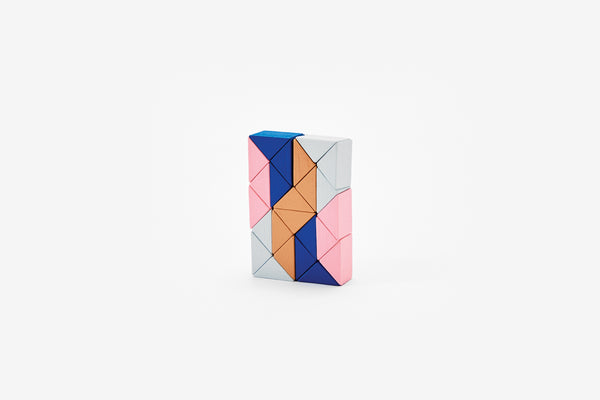 Snake Block™ - Small Pink/Beige